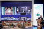 The ceremony honors the veterans of the holy defense in the presence of the  leader of the Islamic Revolution