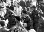 A short interview with Ayatollah Khamenei at the funeral of Imam Khomeini