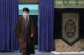 Supreme leader in the mourning ceremony on the night of martyrdom anniversary of Imam Reza (PBUH)