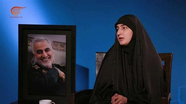 General Soleimani`s daughter hails father as charismatic, conqueror of hearts