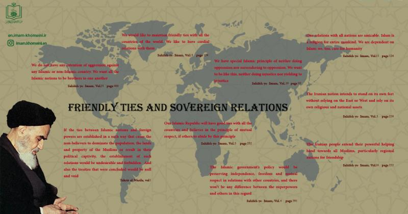 Friendly ties and sovereign relations
