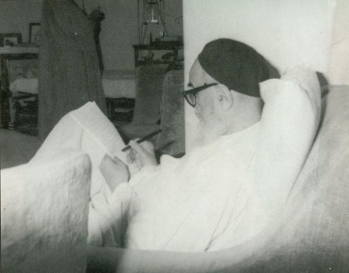 Imam Khomeini had great love and devotion for writing