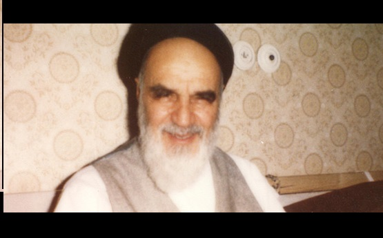 Imam Khomeini had always smile on his face