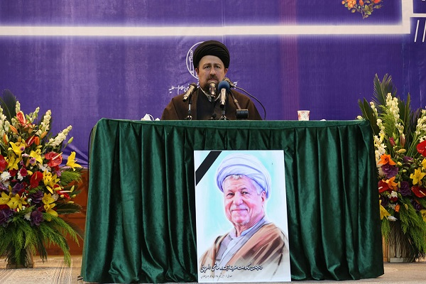 The fourth passing anniversary of late Ayatallah Rafsanjani held at holy mausoleum of Imam Khomeini