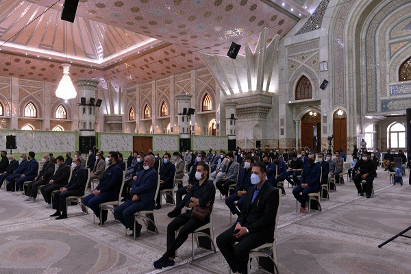 A mourning ceremony at Imam Khomeini's mausoleum marked 28th of Safar