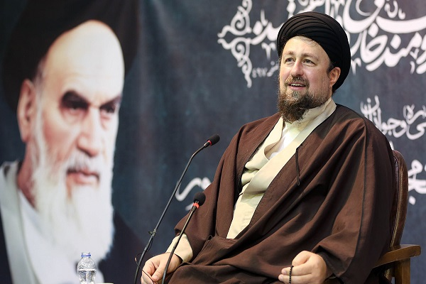 "A virtual summit titled ""inter-generational dialogue—Imam Khomeini's ideals and youth"" with presence of Seyyed Hassan Khomeini"