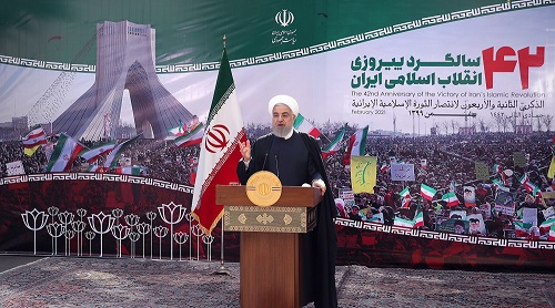 Iranian nation played effective in toppling this tyrant Trump regime, says President Rouhani