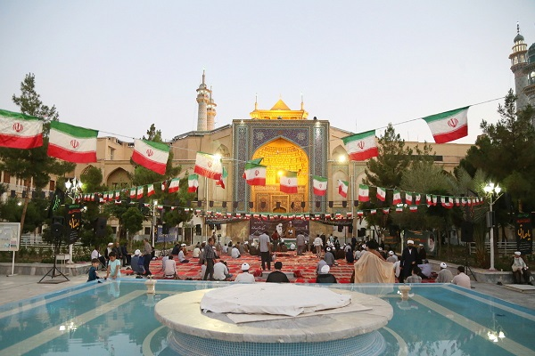 Fadiyyah seminary in holy city of Qom hosts a ceremony to mark 32nd anniversary of Imam Khomeini's heavenly departure and historic 15th Khordad uprising