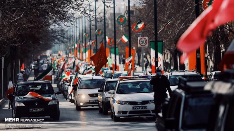 In pictures: Iranians mark 42nd anniversary of  Islamic Revolution