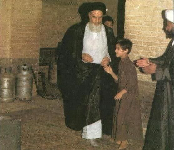 Imam Khomeini was still taking care of us, our family