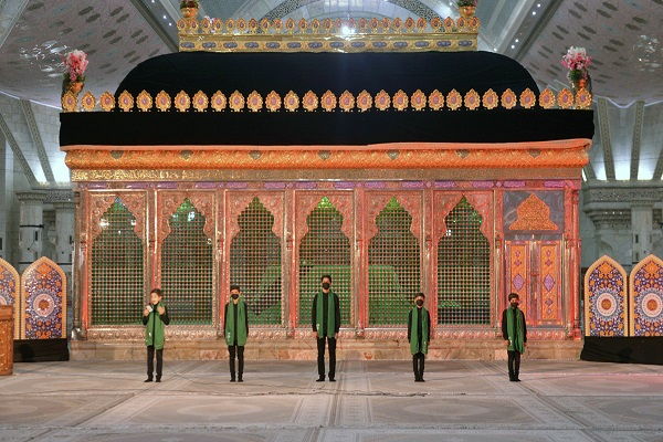 """The mourning ceremony titled """"martyrdom sweeter than honey"""" held at Imam Khomeini's mausoleum"""