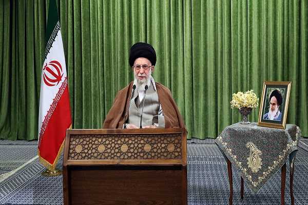 The leader's address on arrival of new Persian year
