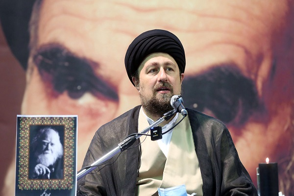 A mourning ceremony held to mark Imam Rida (PBUH)'s martyrdom and recent passing of famous scholar Allma Hakimi