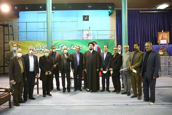 Members of teachers association meet Seyyed Hassan Khomeini