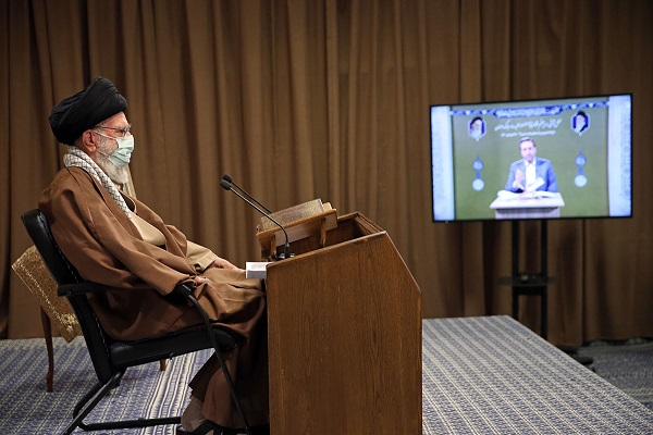 Devotion towards Quran's ceremony held with the presence of the leader of the Islamic Revolution