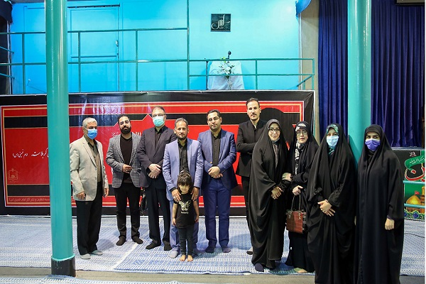 """The night of poetry with theme of that """"the Muharram and Safar have kept Islam alive"""" at Jamaran Hosseiniah"""