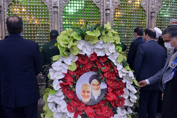 "The summit organized under title of ""soldiers of Imam Khomeini"" at the mausoleum of the late founder of the Islamic Republic"