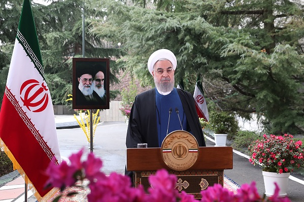 The Iranian president delivers message on occasion of Nowruz