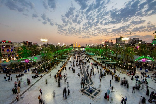 Karbala on the eve of the mourning month of Muharram
