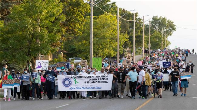 Canadians rally against Islamophobia
