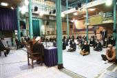 The personnel and directors from various departments meet the new deputy head of the institute