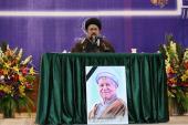 The fourth passing anniversary of late Ayatallah Rafsanjani held at holy mausoleum of Imam Khomeini