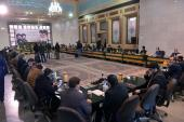 Members of Islamic emancipation organization vows allegiance with Imam Khomeini's ideals