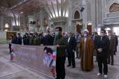 Quranic association members pledge allegiance with Imam Khomeini's ideals