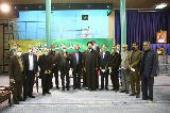 Members of teachers association meet Seyyed Hassan Khomeini