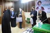 The institute marks Hadrat Fatima Zahra (PBUH)'s birth anniversary, which also coincides with birthday of Imam Khomeini
