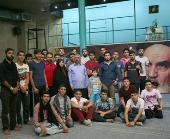 A Group of Turkish Shiite Students pays a Visit to Jamaran