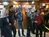 A Group of Tourists Visit Imam Khomeini