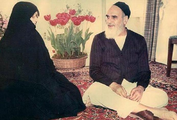 La Dame bénie de l'Iran