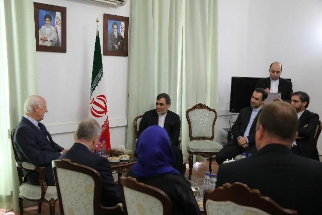 L`Iran souligne le droit des Syriens à déterminer leur destin