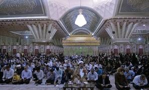 Cérémonies de la lecture de la prière d`Arafa au mausolée de l`Imam Khomeiny