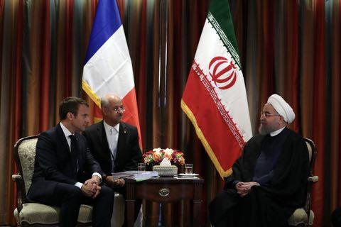 Rohani/Macron pour l'essor des coopérations