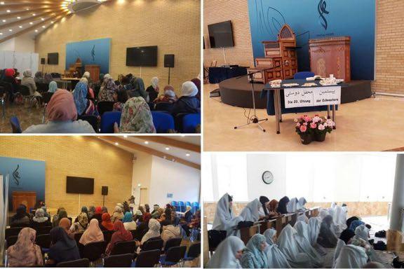 Réunion des musulmanes de plusieurs villes allemandes au Danemark