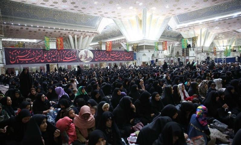 Cérémonie de deuil de la vingt-huitième nuit du mois de Safar au mausolée de l`Imam Khomeiny (Que DIEU sanctifie son noble secret)