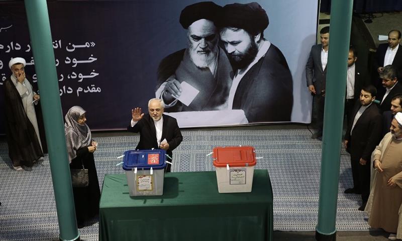 Compte rendu en image: Douzième session des élections à la Présidence de la République d`Iran.