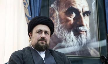 Rencontre de Seyyed Hassan Khomeini avec  les responsables les plus importants du comité de rendre l'hommage à l'Imam Khomeini
