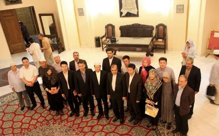 Le 28ème anniversaire de commémoration de l`Imam Khomeini à Pékin