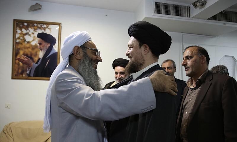 La rencontre entre Maulana Abdul Hamid et Seyyed Hassan Khomeiny