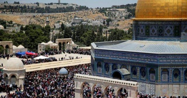 La fermeture de la Mosquée al-Aqsa
