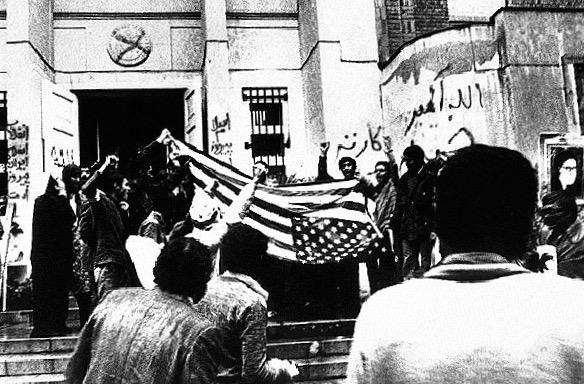 La prise de l`ambassade américaine à Téhéran
