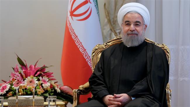 Le Président Rohani souhaite une année sans violence pour le monde