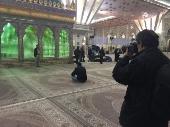 Présence du photographe français Michel Setboun en Iran
