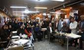 Rassemblement des artistes à la galerie de l`Imam Khomeiny, Jamaran