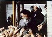 Imam Khomeini à l`école Alavi