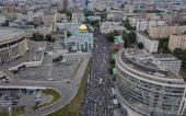 Le rassemblement massif des musulmans pour la prière de Aïd al-Fitr en Russie