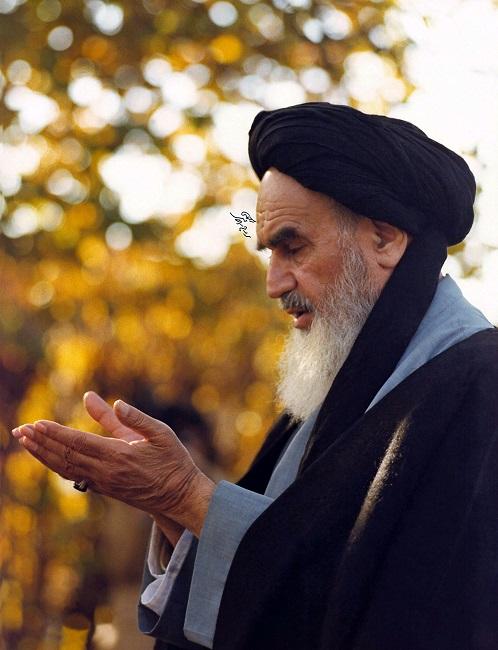 Portraits de l`Imam Khomeini